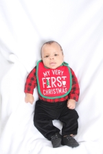 Nas'mir's first Christmas Pictures